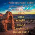 oroscopo della settimana dal 24 al 30 ottobre 2016 – Astroparade